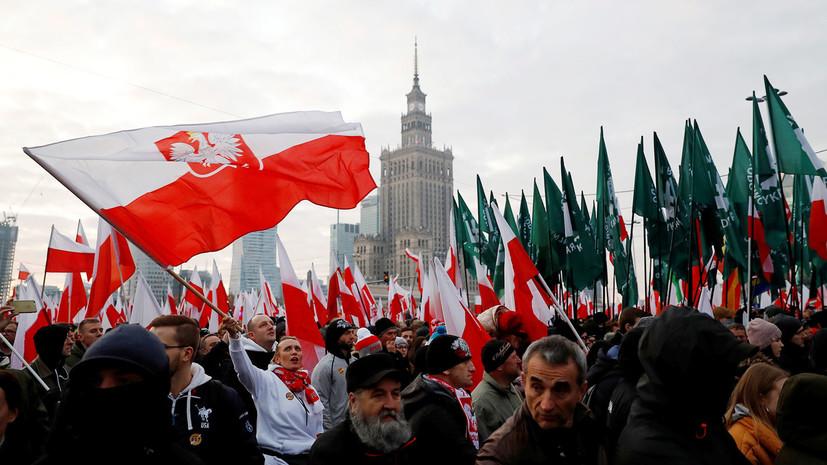 «Географический фатализм»: почему в Польше заявили о стремлении Москвы включить Варшаву «в сферу своего влияния»