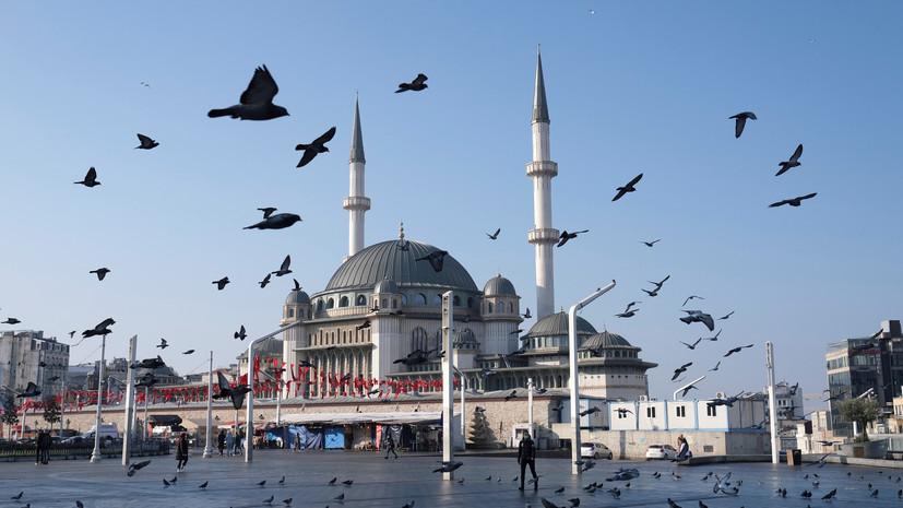 В Турции за сутки выявили более 20 тысяч случаев коронавируса