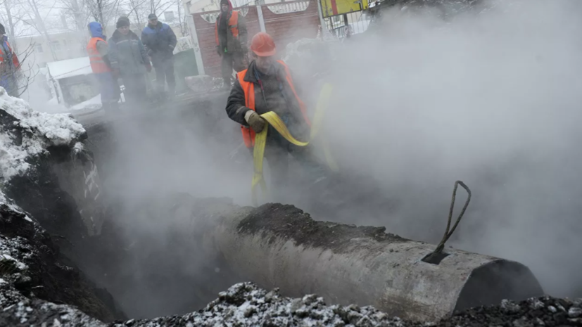 В Саратове из-за аварии на теплосетях более чем в 100 объектах нет отопления