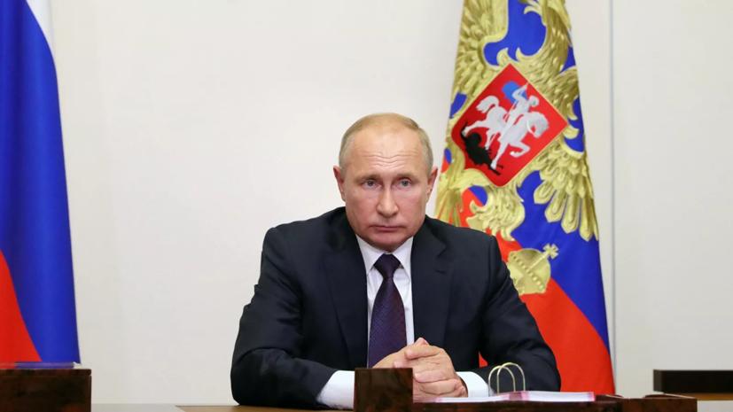 Путин надеется на успешное сотрудничество центра Гамалеи и AstraZeneca
