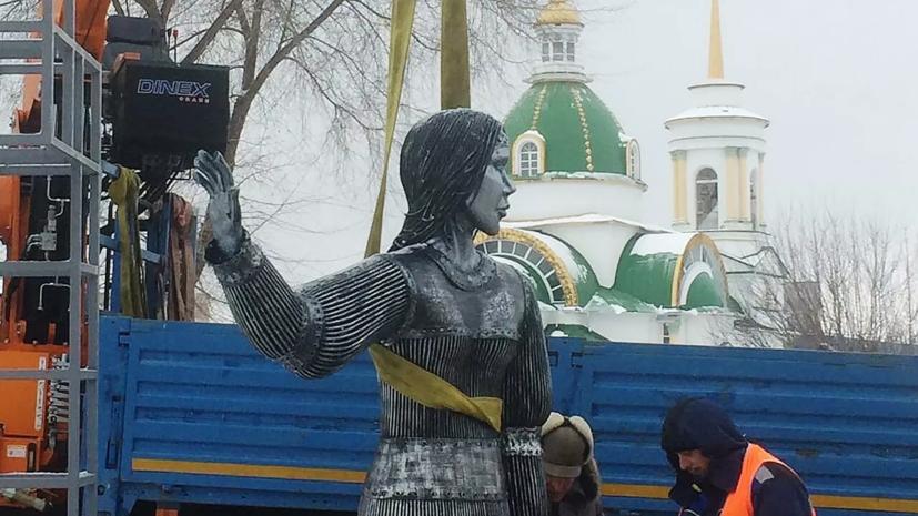 В Нововоронеже демонтируют памятник Алёнке из-за недовольства жителей