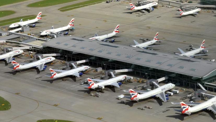 Росавиация уведомила авиакомпании о приостановке полётов в Британию