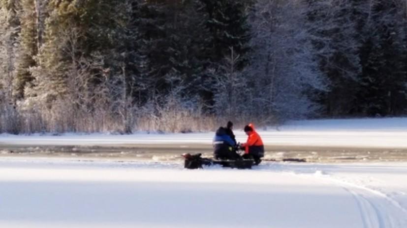 Спасатель рассказал о правилах помощи провалившимся под лёд