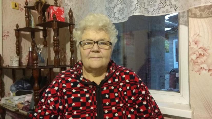 Семья Натальи Пущиной из Макеевки несколько месяцев жила в подвале, спасаясь от обстрелов