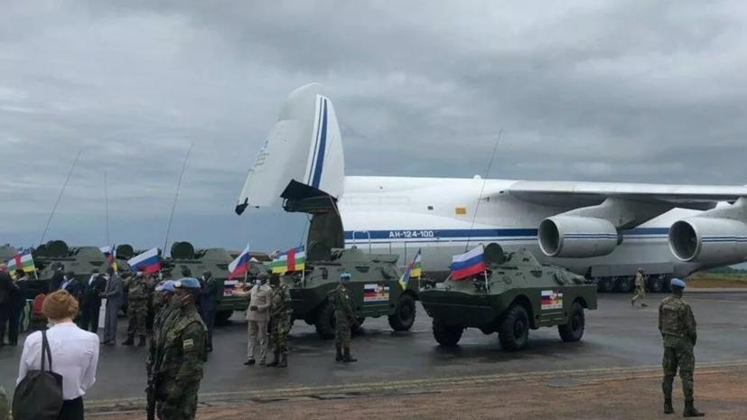 Россия направила в ЦАР 300 инструкторов для обучения армии республики