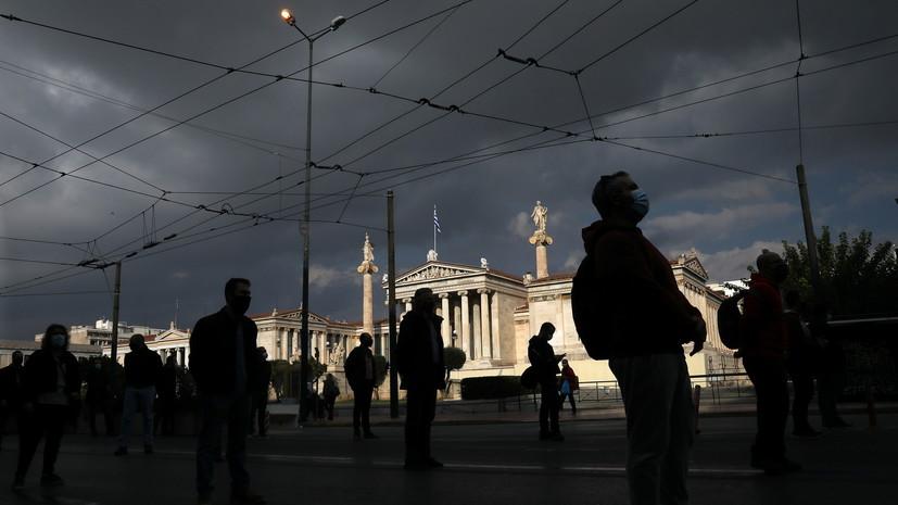 В Греции за сутки выявили 853 новых случая коронавируса