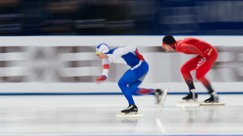 Конькобежец Казелин сообщил о своём отстранении за допинг