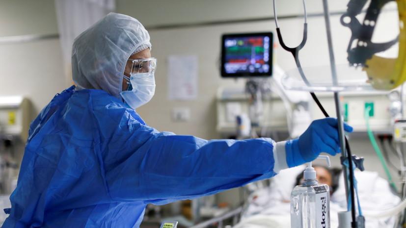 В Перу число выявленных случаев коронавируса превысило 1 млн