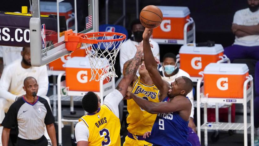 «Клипперс» был сильнее «Лейкерс» в игре НБА