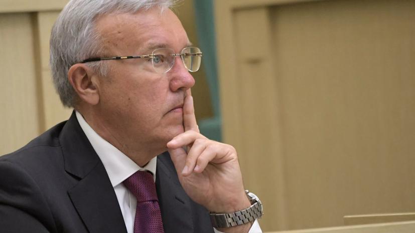 Красноярский губернатор вакцинировался от COVID-19