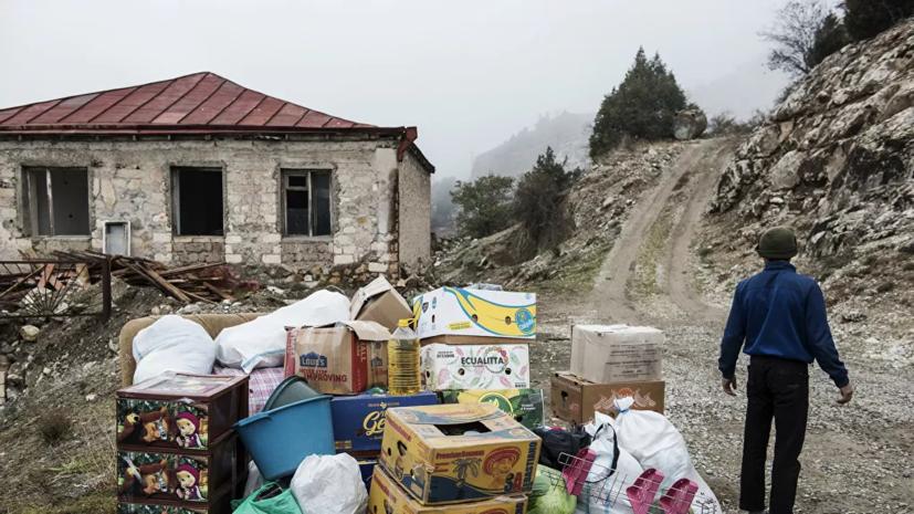 В Карабах за сутки вернулись из Армении ещё 378 беженцев