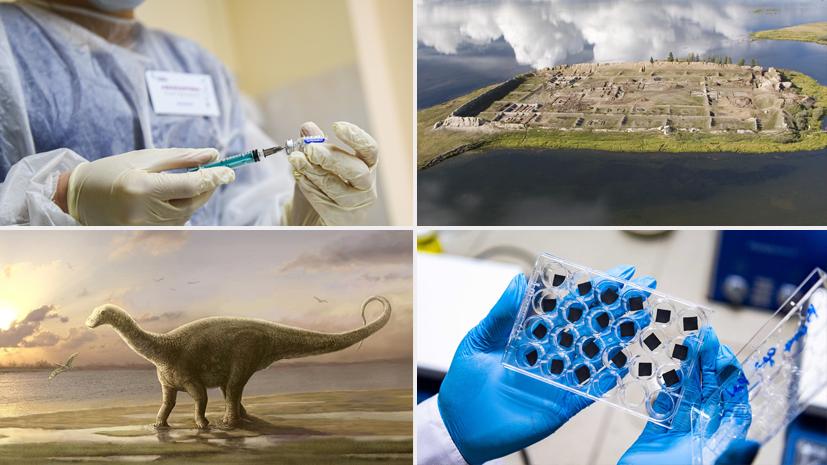 Вакцины от COVID-19, древние граффити и тайна Тунгусского феномена: научные открытия 2020 года в России