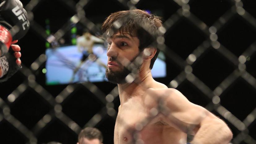 Стали известны сроки возвращения Тухугова в UFC