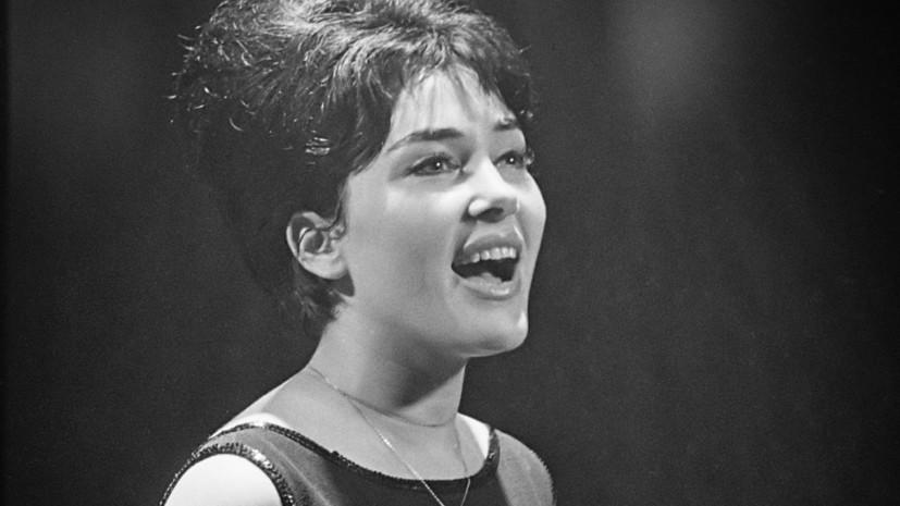 Умерла певица Рика Зарай