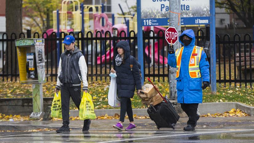 В Канаде за сутки зафиксировали 6845 случаев заболевания коронавирусом