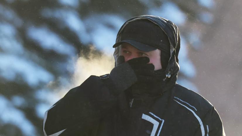 В Ульяновской области синоптики прогнозируют морозную и ветреную погоду