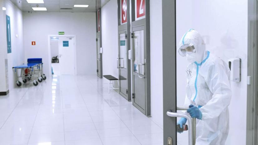 В Москве за сутки коронавирус выявлен у 8203 человек