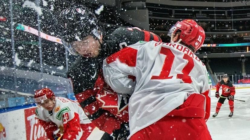 На одном уровне с чемпионами: какой предстала сборная России по хоккею перед МЧМ-2021