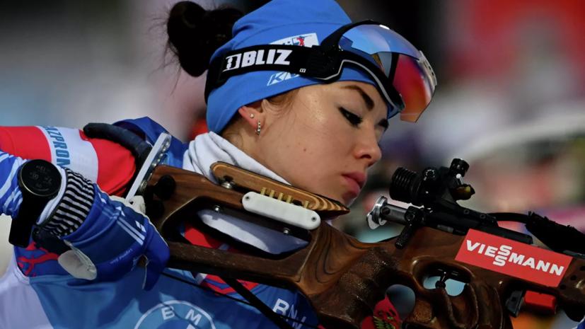 Куклина выиграла индивидуальную гонку на чемпионате России по биатлону