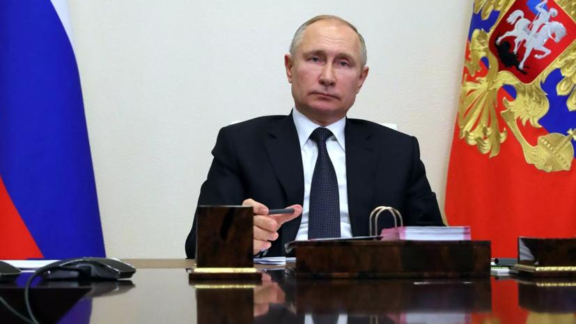 Путин рассказал о случаях обсуждения с Мишустиным пандемии за полночь