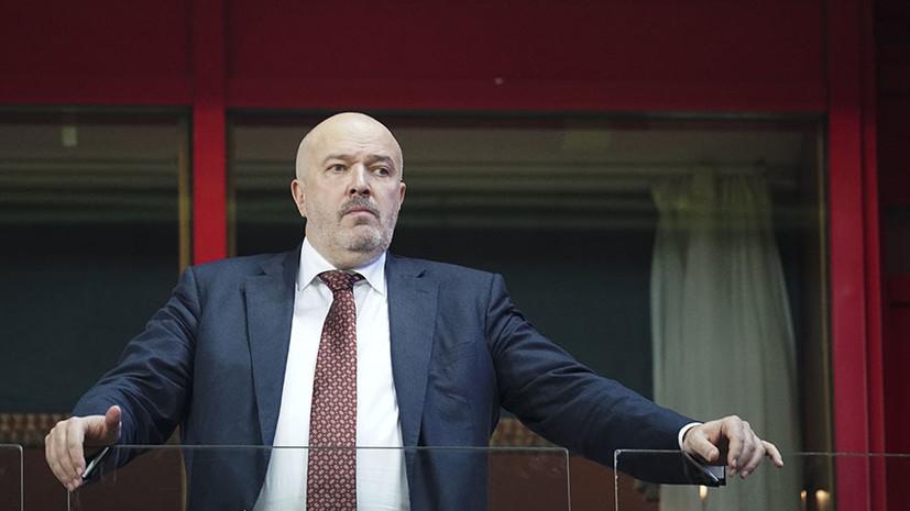 Кикнадзе прокомментировал свой уход из «Локомотива»