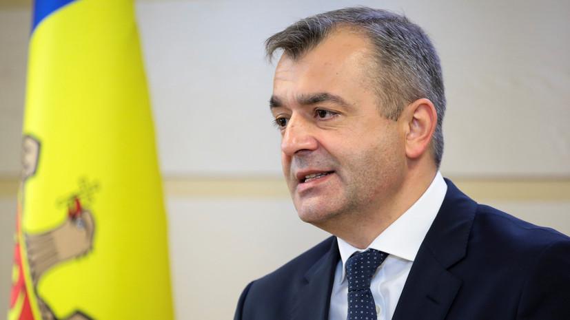 Кику продолжит исполнять обязанности премьера Молдавии до конца года