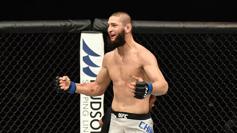 Чимаев улучшил условия своего контракта с UFC