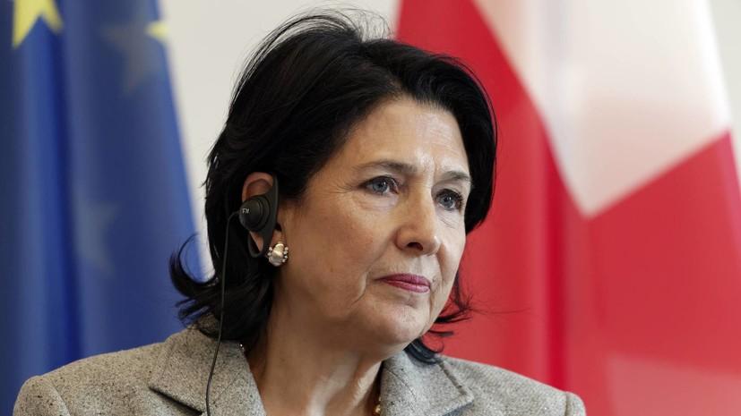 Президент Грузии утвердила Гахарию премьер-министром страны