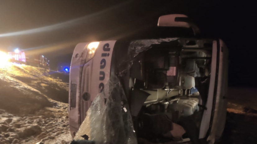 СК начал проверку по факту ДТП с автобусом в Рязанской области