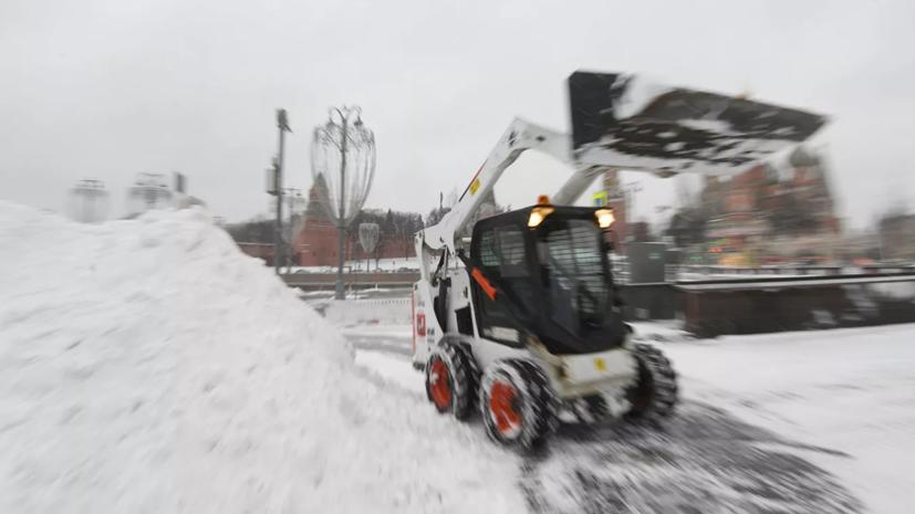 В Минтрансе Подмосковья рассказали об устранении последствий снегопада