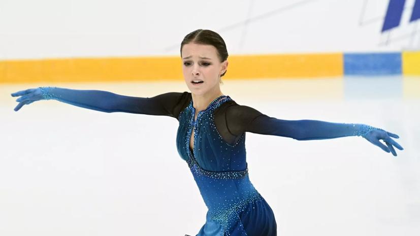 Щербакова рассказала, что займётся своим здоровьем после чемпионата России