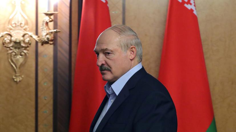 Лукашенко заявил, что не будет вакцинироваться от коронавируса