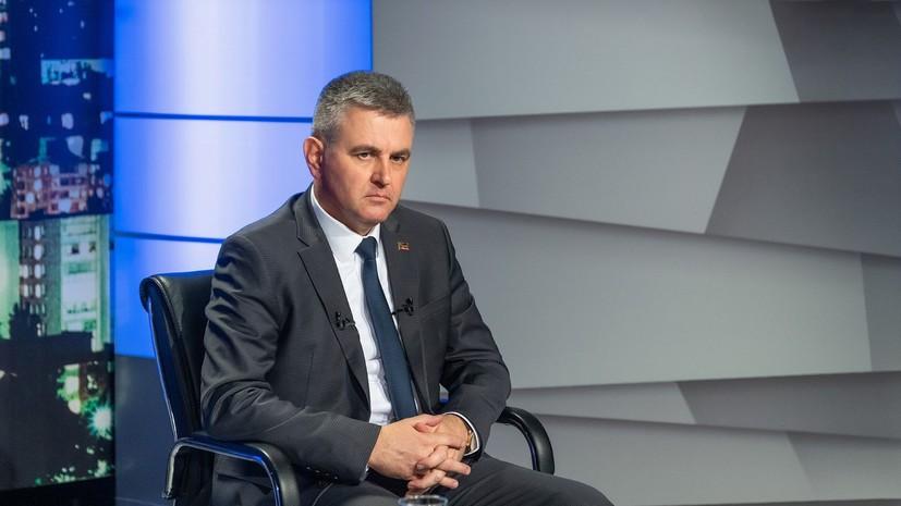 Глава Приднестровья заявил о готовности к переговорам с Молдавией