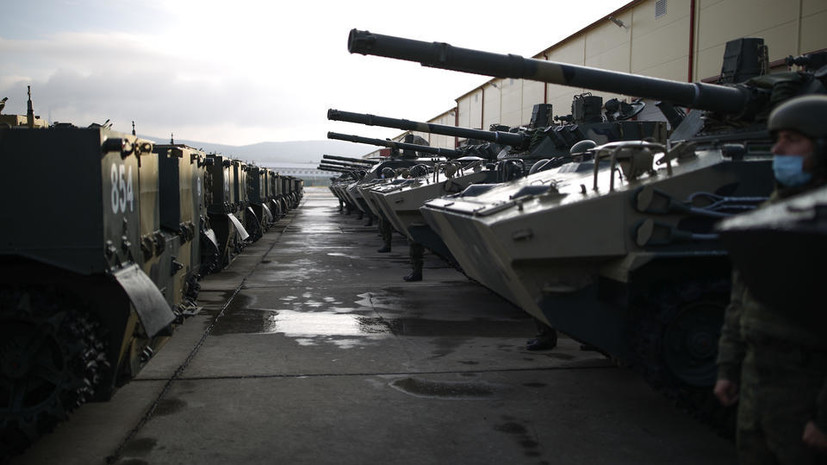 В воинской части Пскова произошёл непроизвольный выстрел из 30-мм пушки