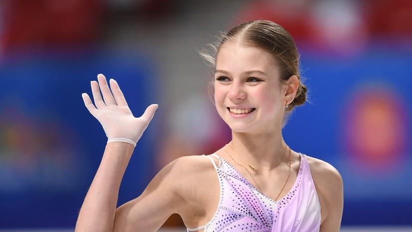 Плющенко рассказал, что Трусова выступает на ЧР с серьёзной травмой