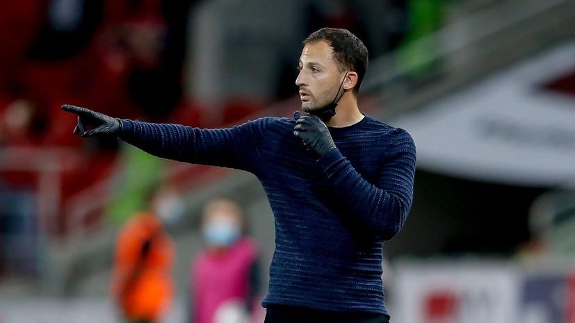 Ловчев высказался о решении «Спартака» оставить Тедеско до конца сезона