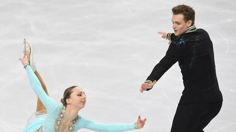 Фигурист Козловский отметил высокую конкуренцию в парном катании на ЧР