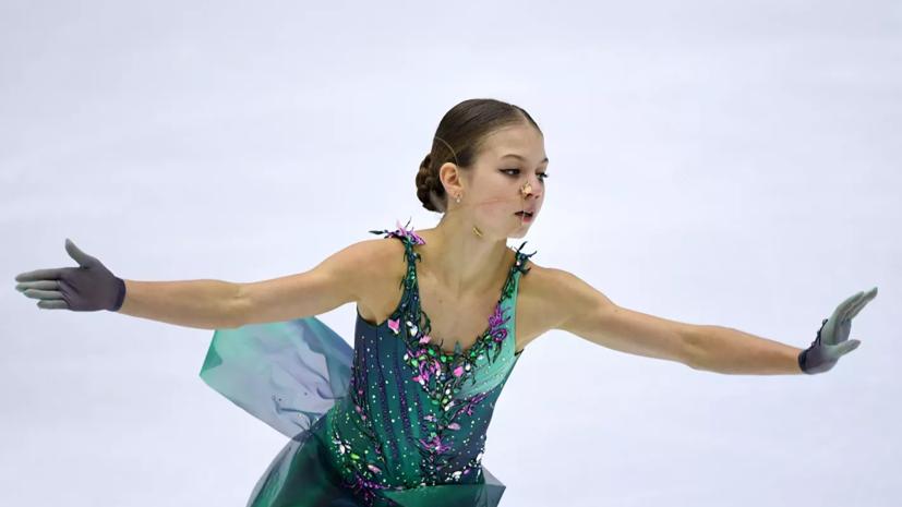 Трусова рассказала, что травма позволила ей исполнять только четверной лутц