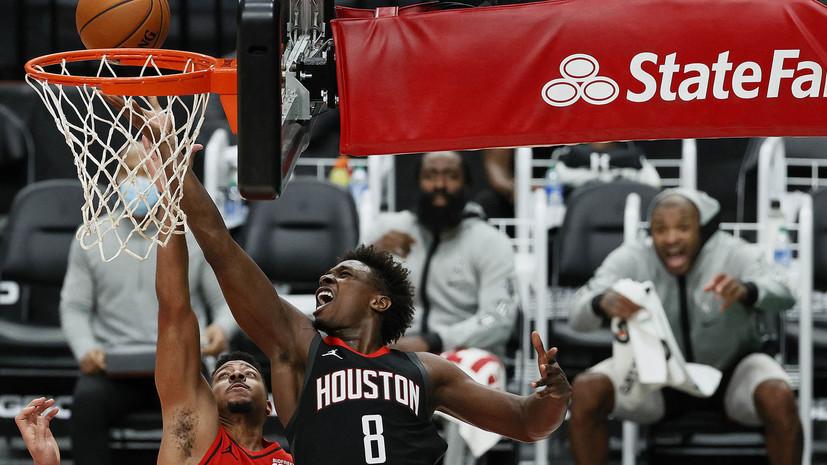 Дабл-дабл Хардена не спас «Хьюстон» от проигрыша «Портленду» в матче НБА