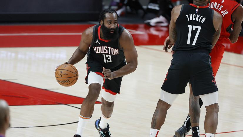 Харден установил новый рекорд НБА
