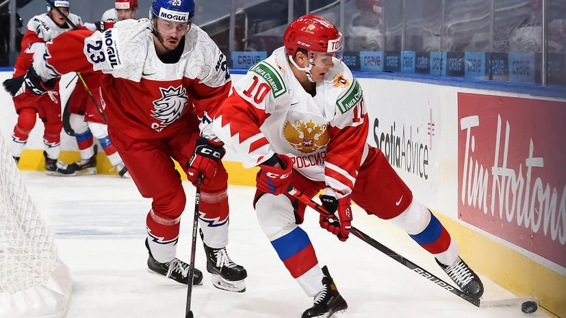 Ларионов сравнил тактику чешских хоккеистов с игрой сборной России по футболу в матче ЧМ-2018 с Испанией