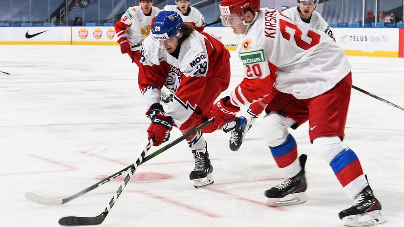 Ларионов заявил, что у сборной России не было недонастроя на матч МЧМ с чехами