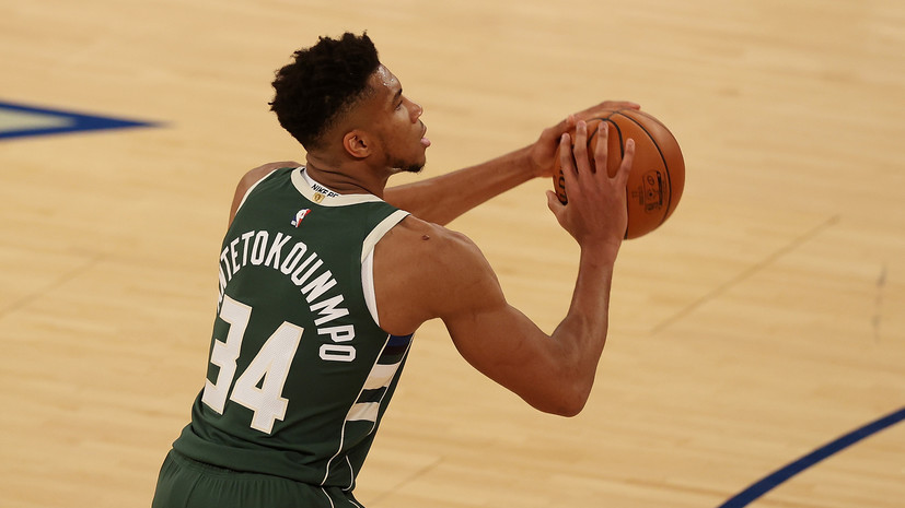 Дабл-дабл Адетокунбо не спас «Милуоки» от проигрыша «Нью-Йорку» в матче НБА