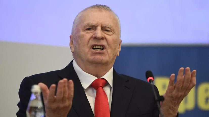 Жириновский назвал потенциальных кандидатов на пост президента России