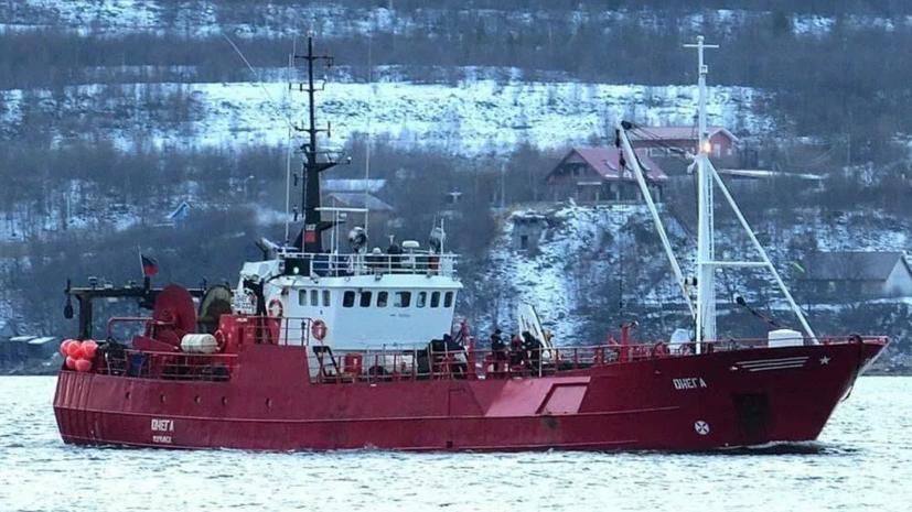 Затопление траулера в Баренцевом море: Путин выразил соболезнования семьям погибших при крушении судна «Онега»