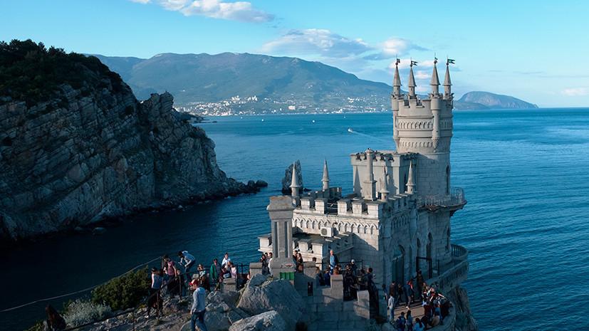 Крым принял почти 80 тысяч иностранных туристов с начала года