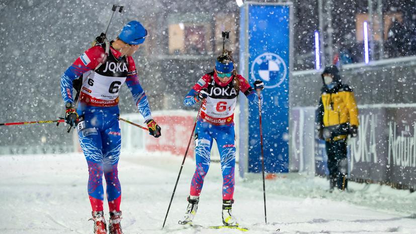 Павлова и Елисеев победили в пасьюте на Рождественской гонке