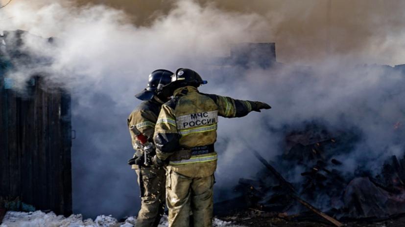 В Югре ликвидировали пожар на нефтяном месторождении