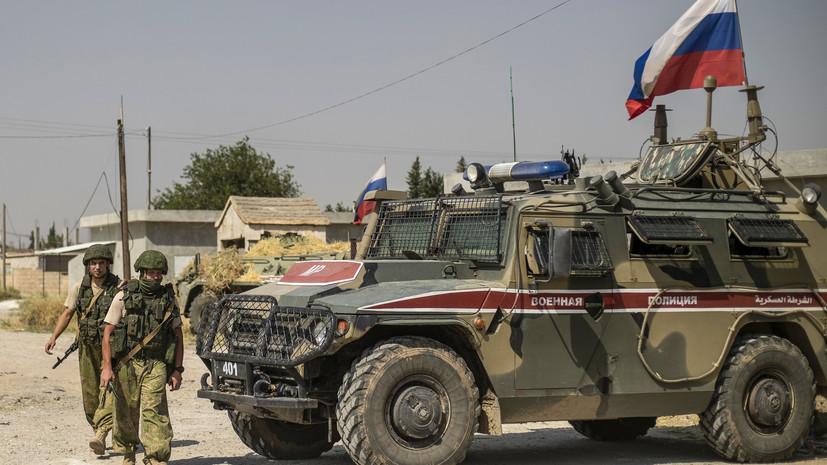 Российская военная полиция прибыла в город Айн-Исса на севере САР