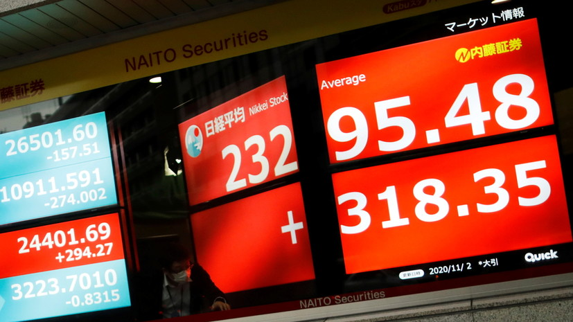 Курсы акций в Токио превзошли рекорд 1990 года